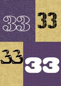 33-number