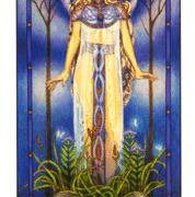 The High Priestess is the third card of the major arcana of Tarot